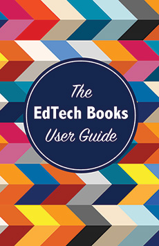 Book cover for The EdTech Books User Guide