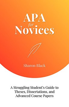 Book cover for APA for Novices